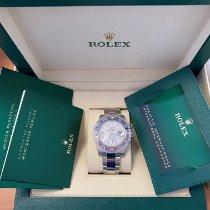 Rolex GMT-Master II Weißgold 40mm Blau Keine Ziffern Schweiz, Zug