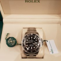 Rolex Sea-Dweller Deepsea pre-owned Black Date Steel