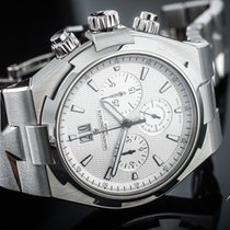 Vacheron Constantin Overseas Chronograph Steel 42mm White Arabic numerals