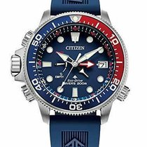 Citizen Promaster Marine Steel 46mm Blue United States of America, New Jersey, Somerset