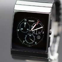 Rado Ceramica Ceramic 35mm Black No numerals United States of America, New Jersey, Long Branch