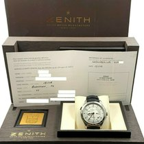 Zenith Elite Dual Time Acero 44mm