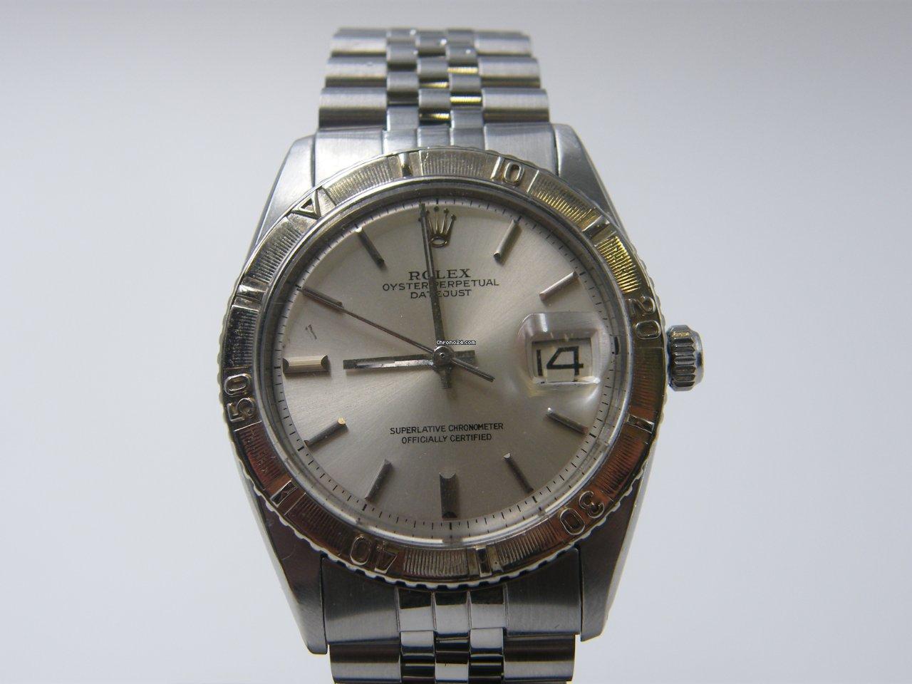 Rolex Datejust Turn-O-Graph 1625 1960 usato