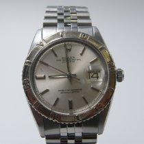 Rolex Datejust Turn-O-Graph Steel 36mm Silver No numerals