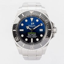 Rolex Sea-Dweller Deepsea Steel 44mm Blue No numerals United Kingdom, Guildford,Surrey