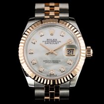 Rolex Lady-Datejust Gold/Steel 28mm Mother of pearl