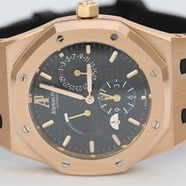 Audemars Piguet Royal Oak Dual Time occasion 39mm Noir Date Plis