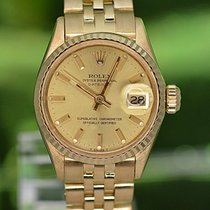 Rolex Oyster Perpetual Lady Date Κίτρινο χρυσό 26mm Χρυσό Xωρίς ψηφία Ελλάδα, Athens