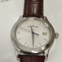 Jaeger-LeCoultre Master Control Date Steel 40mm Silver Arabic numerals