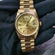 Rolex Day-Date 36 Yellow gold 36mm Gold (solid) No numerals United Kingdom, London
