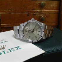 Rolex Air King Precision Acero 34mm Plata Sin cifras