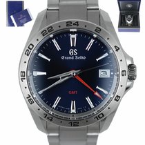Seiko Grand Seiko Steel 39mm Blue United States of America, New York, Smithtown
