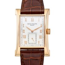 Patek Philippe Pagoda Rose gold 26mm Silver No numerals