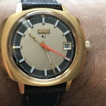 Elgin nuevo Cuerda manual 40mm Oro amarillo