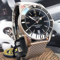 Breitling Superocean Héritage II 42 Acier 42mm Noir Sans chiffres