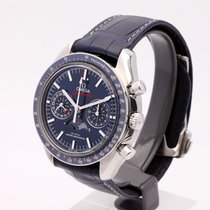 Omega Speedmaster Professional Moonwatch Moonphase Acier 44,25mm Bleu