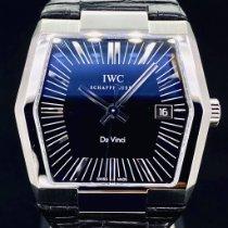 IWC Da Vinci Automatic Acier 41mm Noir Sans chiffres