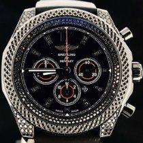 Breitling Bentley Barnato Acier 42mm Noir Sans chiffres