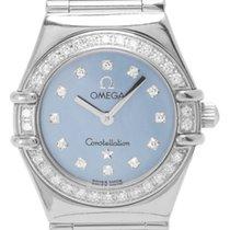 Omega Or blanc Quartz 22.5mm occasion Constellation Ladies