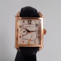 Girard Perregaux Or rose Remontage automatique Champagne Arabes 47x31mm occasion Vintage 1945
