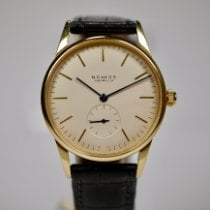 NOMOS Yellow gold Manual winding Champagne No numerals 35mm pre-owned Orion