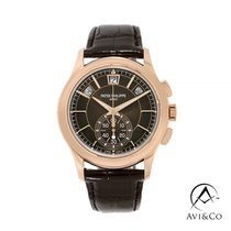 Patek Philippe Annual Calendar Chronograph Rose gold 44mm Brown No numerals United States of America, New York, New York