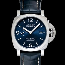 Panerai Luminor Marina Automatic Steel 44mm Blue United States of America, California, Burlingame
