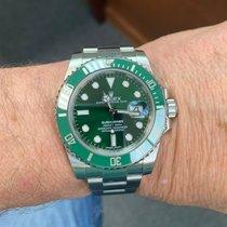 Rolex Submariner Date Steel 40mm Green No numerals United States of America, Texas, Houston