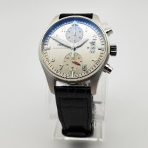 IWC Pilot Spitfire Chronograph Steel 43mm Silver Arabic numerals United States of America, Illinois, Northbrook