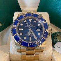 Rolex Submariner Date Yellow gold 40mm Blue No numerals Australia, SYDNEY