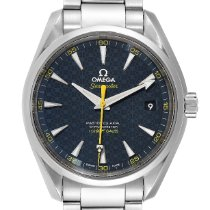 Omega Seamaster Aqua Terra Steel 41.5mm Blue United States of America, Georgia, Atlanta
