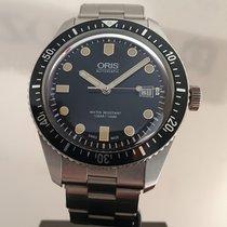 Oris Divers Sixty Five Zeljezo 42mm Crn Bez brojeva