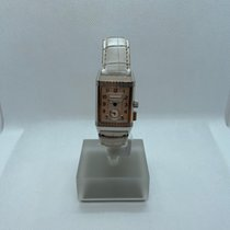 Jaeger-LeCoultre Reverso Memory Steel 23mm White Arabic numerals