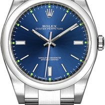 Rolex Oyster Perpetual 39 Steel 39mm Blue United States of America, California, Moorpark