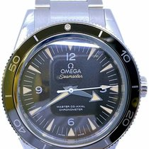 Omega Seamaster 300 Steel 41mm Black No numerals
