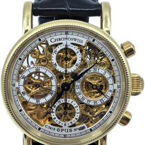 Chronoswiss Opus Yellow gold 38mm Transparent No numerals United States of America, Florida