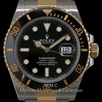 Rolex Submariner Date Or/Acier 41mm Noir France, Paris