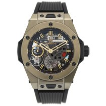 Hublot Big Bang Meca-10 nuevo Cuerda manual Reloj con estuche y documentos originales 414.MX.1138.RX