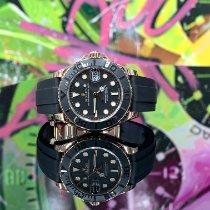 Rolex Yacht-Master 37 Or rose 37mm Noir Sans chiffres France, Paris