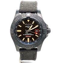 Breitling Titanium Automatic Black 44mm pre-owned Avenger Blackbird 44