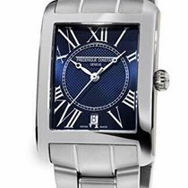 Frederique Constant Classics Carree Steel 33mm Blue Roman numerals United States of America, New Jersey, Somerset