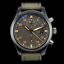 IWC Pilot Chronograph Top Gun Miramar IW388002 Nenošeno Titan 46mm Automatika