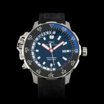 IWC Aquatimer Deep Two Steel 46mm Black