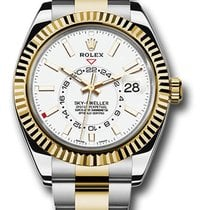 Rolex Sky-Dweller Gold/Steel 42mm White United States of America, New York, NY