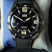 Oris Divers Sixty Five 01 733 7707 4064-07 4 20 18 2016 pre-owned