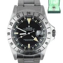 Rolex 1655 Steel Explorer II 40mm pre-owned United States of America, New York, Smithtown
