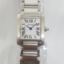 Cartier pre-owned Quartz 20mm White Sapphire crystal