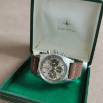 Zenith Steel 38mm Automatic A384-SP1301 pre-owned
