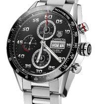 TAG Heuer Carrera Calibre 16 nuevo 2020 Automático Cronógrafo Reloj con estuche y documentos originales CV2A1R.BA0799