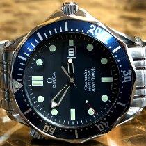 Omega 2541.80 Stahl 1998 Seamaster Diver 300 M 41mm gebraucht